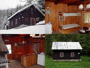 Hunting cottage Jelenská - Lesy SR [Increase - new window]