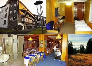 Mountain hotel Poľana (1.260 m) [Increase - new window]