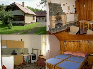 Hunting cottage Roztoky - Lesy SR [Increase - new window]