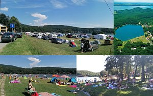 Campsite Vinianske jazero [Increase - new window]